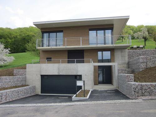 Fertigbauhaus / modern / Öko / mit 2 Ebenen