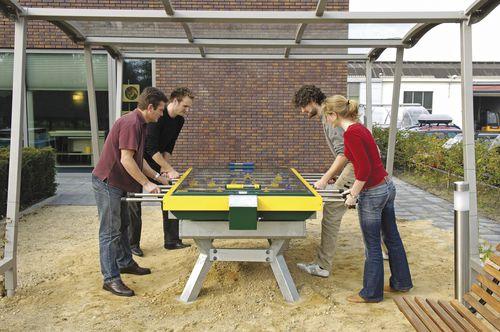 moderner Tischfußball / für sportliche Aktivität