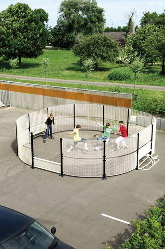 Fußballfeld für öffentliche Bereiche