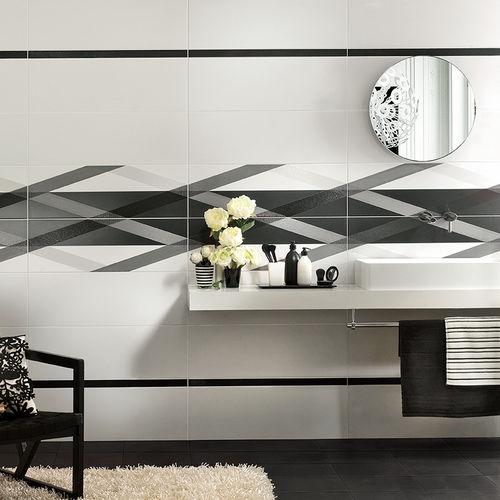 Badezimmer-Fliesen / Wand / Keramik / 30x60 cm
