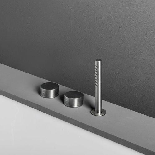 Mischbatterie für Badewanne / für Theken / Edelstahl / Badezimmer