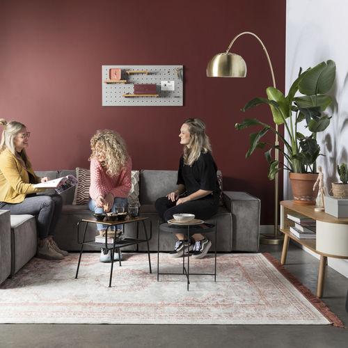 Orient-Teppich / Motiv / Polyester / Baumwolle