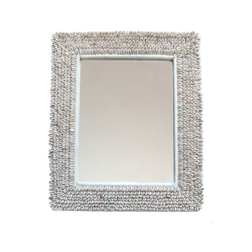 wandmontierter Spiegel / klassisch / rechteckig
