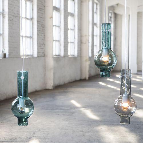 Hängelampe / modern / Glas / Innenraum