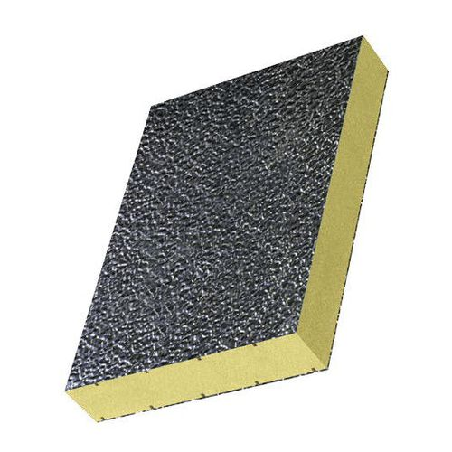 Sandwich-Dämmplatte / für Türen / Aluminiumdeckblech / extrudierter Polystyrenkern / Kern aus PE-Schaum