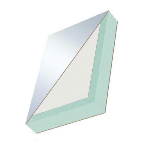 Sandwich-Dämmplatte / für Innenausbau / Oberfläche aus Holzspan / Kern aus PE-Schaum