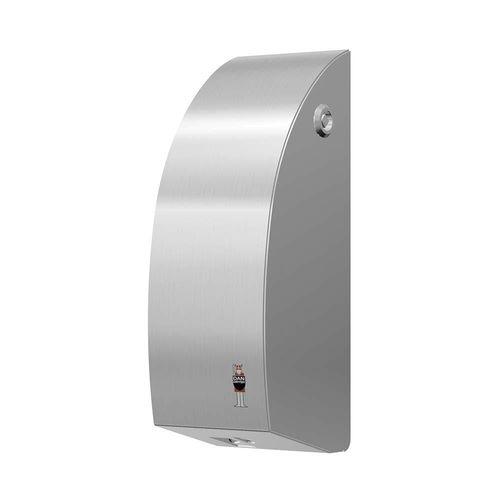 Objektmöbel-Seifenspender / wandmontiert / Edelstahl / elektronisch