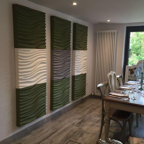 Akustikplatte für Decken / wandmontiert / für Trennwandsysteme / für Innenausbau