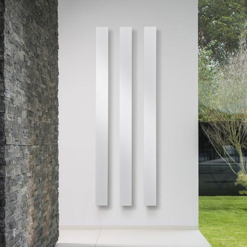 elektrischer Heizkörper / Aluminium / modern / wandmontiert
