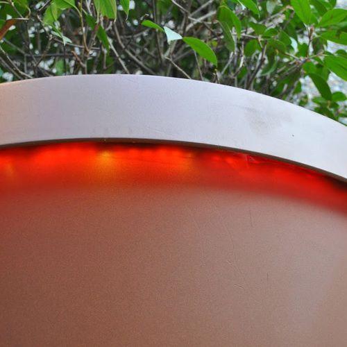 Pflanzkübel / verzinkter Stahl
