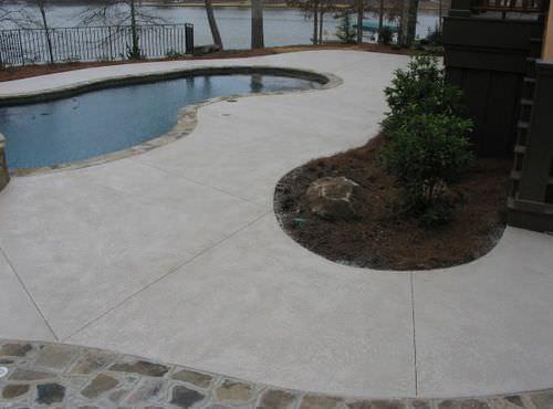 hochbelastbarer Beton / für Außenböden