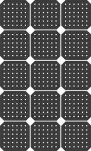 transparente Solarzelle