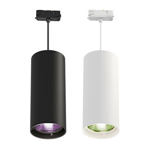 Hängeleuchte / LED RGBW / rund / Aluminium
