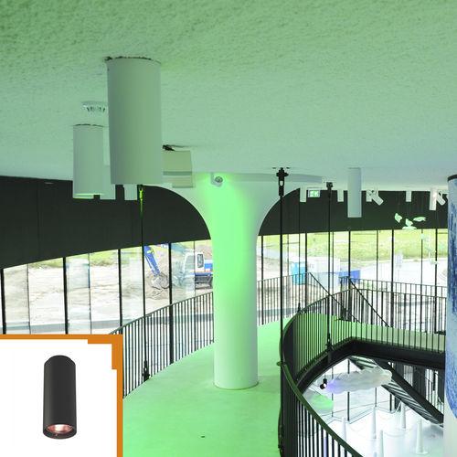 Aufbauleuchte / LED RGBW / rund / Aluminium