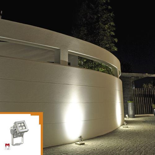moderne Wandleuchte / Außenbereich / Metall / LED