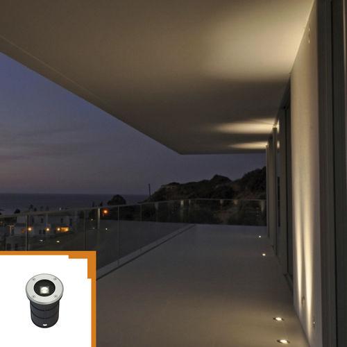 Einbauleuchte / LED / rund / Außenbereich