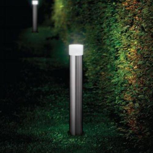 Garten-Leuchtpoller / modern / Stahl / aus Acryl