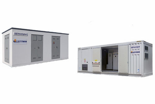 Wechselrichter-Station / Schlüsselfertige