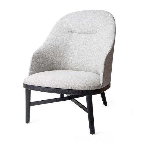 moderner Sessel / Massivholz / aus Sperrholz
