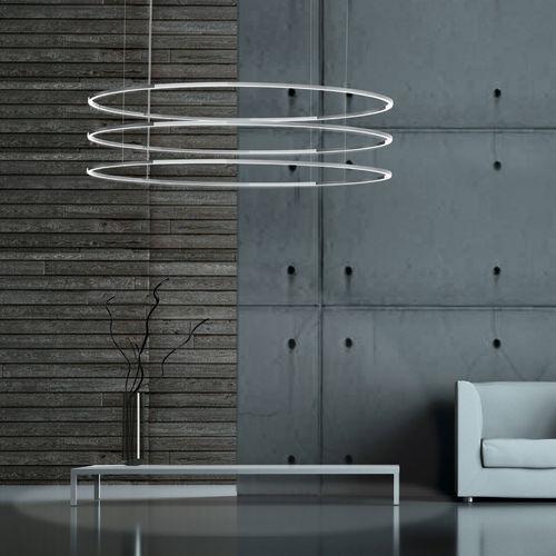 Hängelampe / modern / Aluminium / aus Acrylglas