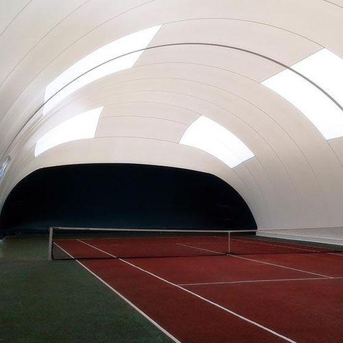 Traglufthalle für Tennisplätze