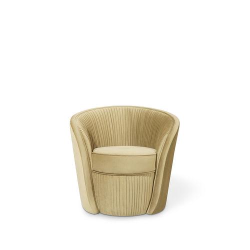 klassischer Sessel / Samt