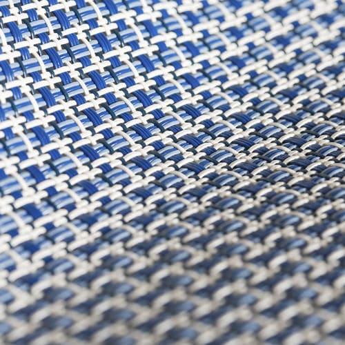 Stoff für Sonnenschutz / Streifenmuster / Textilene / für den Außenbereich