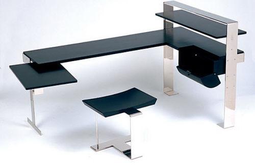 Schreibtisch aus Eiche / Art Deco / Objektmöbel / von Pierre Chareau