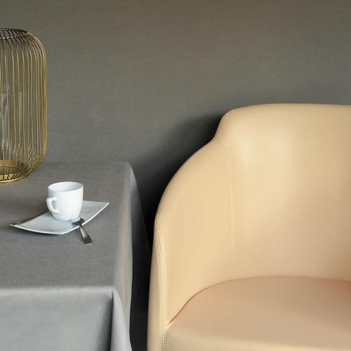 Möbelstoff / uni / Baumwolle / PVC