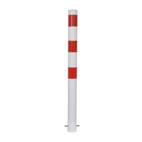 Sicherheits-Sperrpfosten / Stahl / feststehend / hoch