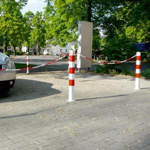 Zutrittsabsperrung / für Parks / feststehend / Stahl