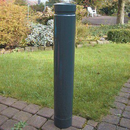 Sicherheits-Sperrpfosten / Aluminium / feststehend / hoch