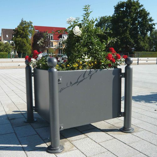 Stahl-Pflanzkübel