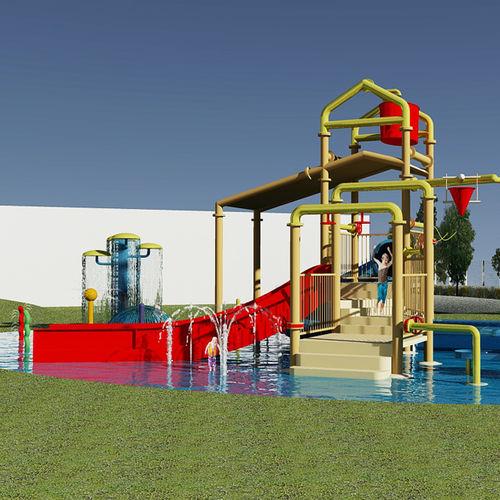 Spielplatzgerät für Aquapark