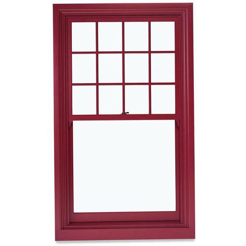 Schlagmesser-Fenster / Holz / Aluminium / Doppelverglasung