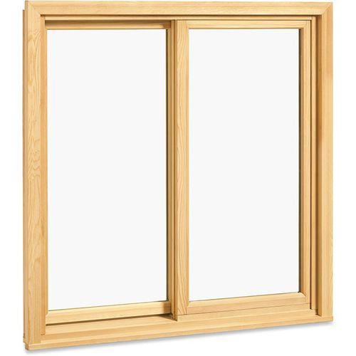 Schiebefenster / Holz / Aluminium / Doppelverglasung