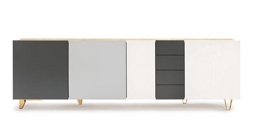 modernes Sideboard - SUPERGRAU Möbeldesign OHG
