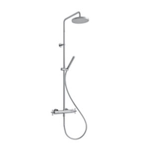 wandmontiertes Duschsystem