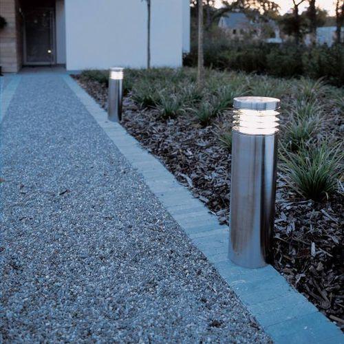 Garten-Leuchtpoller / modern / Edelstahl / Stahl