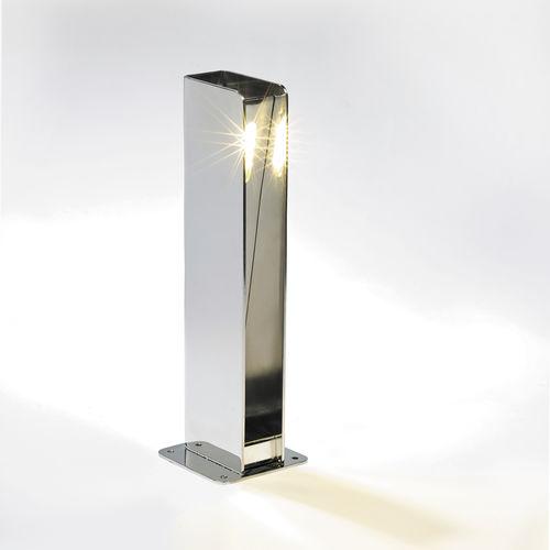 Garten-Leuchtpoller / modern / Edelstahl / LED