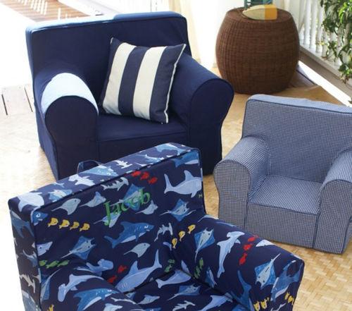 moderner Sessel / Baumwolle / für Kinder