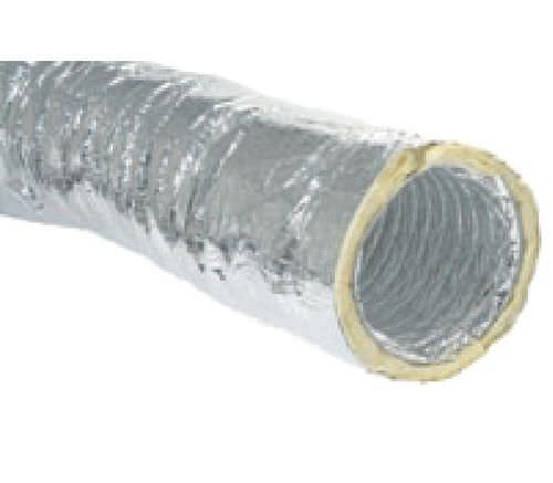 elastischer r-Lüftungskanal / Aluminium / wärmeisoliert