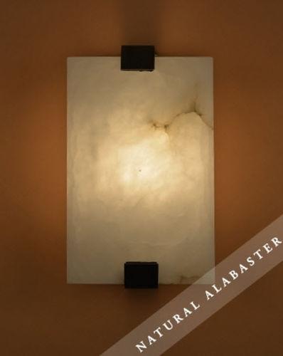 moderne Wandleuchte / Glas / Alabaster / LED