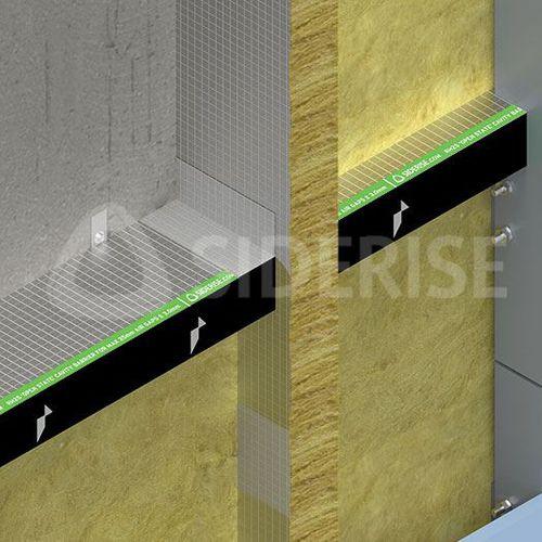 Isolierung zur Schalldämmung / Synthetik / für Fassaden / Außen