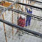 Sicherheitsnetz für Baustellen