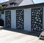 Spalier für begrünte Mauern / thermolackiertes Aluminium