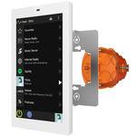 Bedientastatur für Multimedia systeme / wandmontiert / mit Touchscreen
