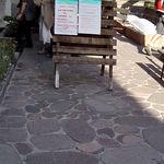 Porphyrpflasterstein / Marmor / für Fußgänger / befahrbar