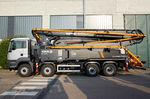 mobile Betonpumpe / LKW-montiert