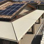 Sonnenschutzlamelle / extrudiertes Aluminium